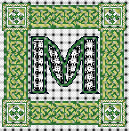 This is the letter M!