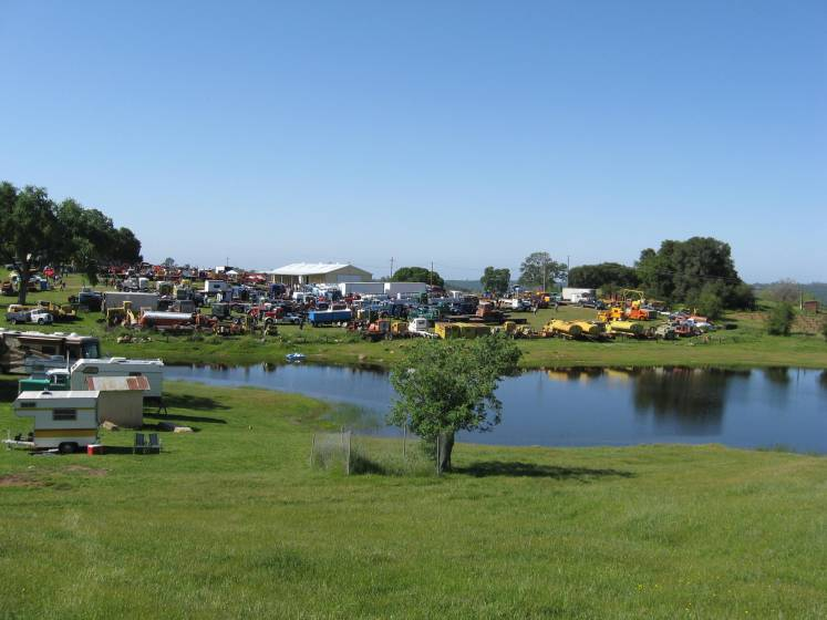 overview of the Kirkland Ranch & Truck Show.